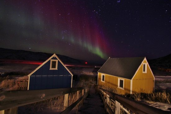 World of Greenland Arctic Circle - Day Tours: Northern Lights over Kangerlussuaq