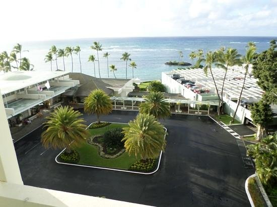 The Kahala Hotel & Resort: view from our room