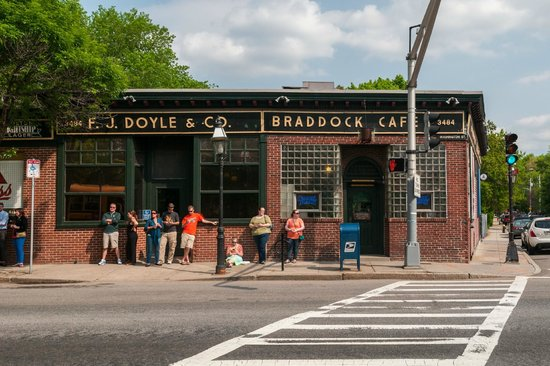 Doyle's Cafe Exterior on Washington St