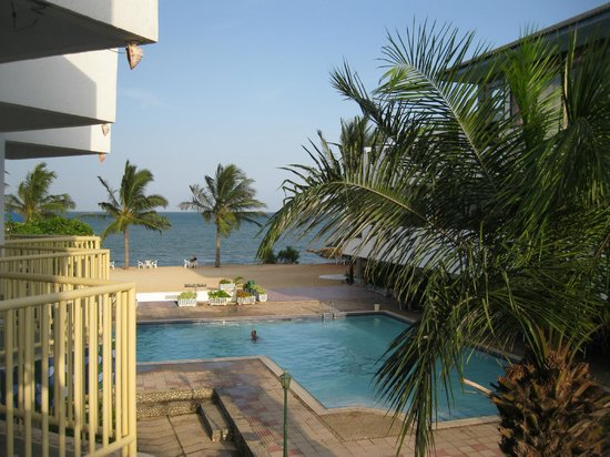 Beachcomber Hotel and Resort: View from balcony