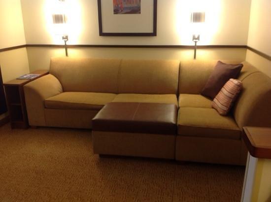 Luxury Modern Hotel Lobby Italy Nappa Leather Sofa Set