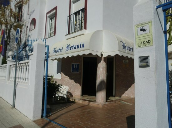 Hotel Betania: Entrance