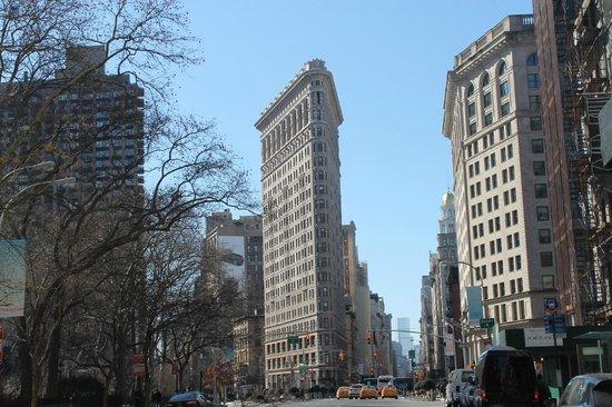 Flatiron Building: particolare