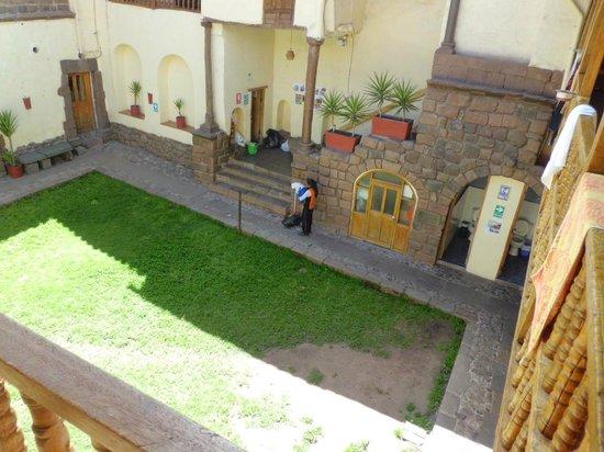 LOKI Cusco : Pátio
