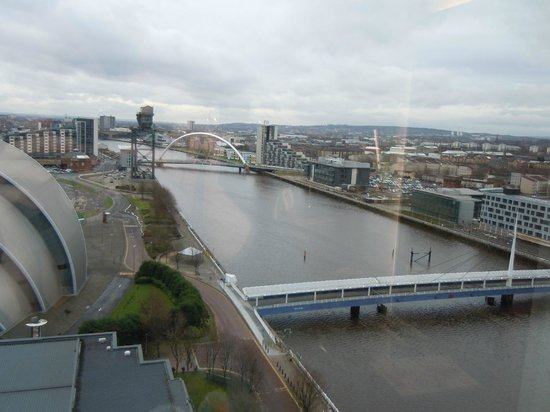 Crowne Plaza Glasgow: View from Room
