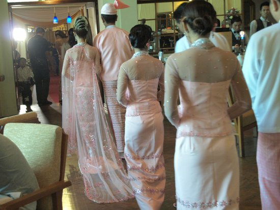 Inya Lake Hotel, Yangon: wedding ceromony
