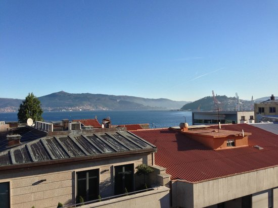 Hotel America Vigo: The view from the breakfast room