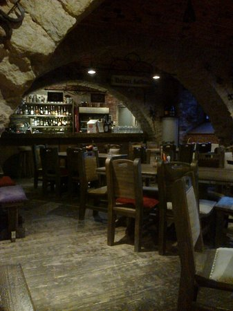 Hotel St. Barbara : Bar/Dining Area