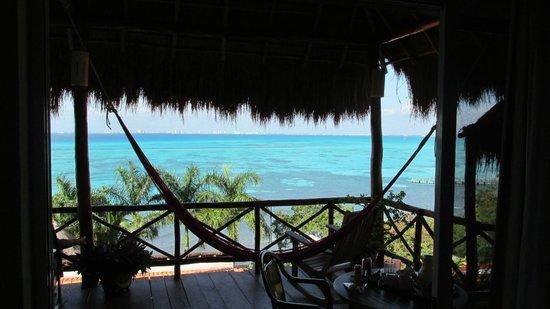 Hotel La Joya: Our deck