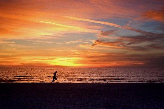Siesta Beach: Siesta Key Sunset