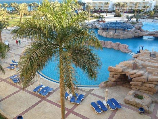 Palm Royale Soma Bay : Vue de notre chambre