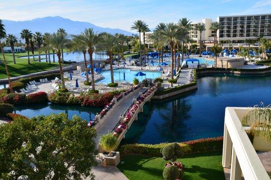 Desert Springs JW Marriott Resort & Spa: view from my room