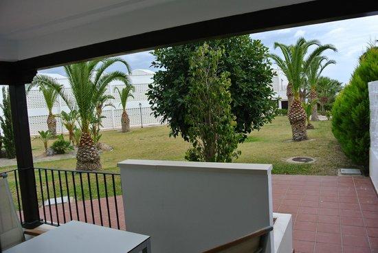 Parador de Mojacar: vista terraza