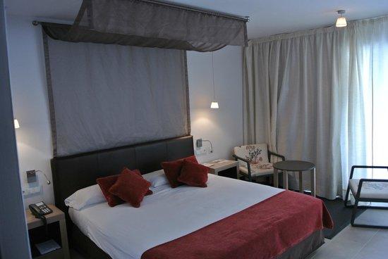 Parador de Mojacar: dormitorio