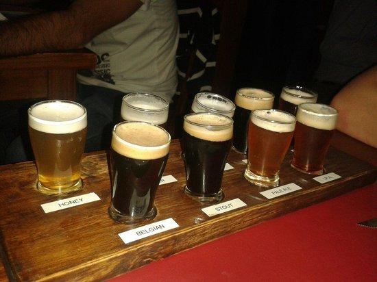 Cervecería Manush: Distintos tipos de cervezas