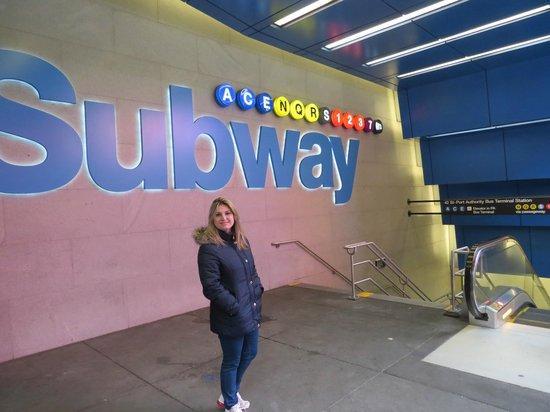 Pennsylvania Station: Subway!