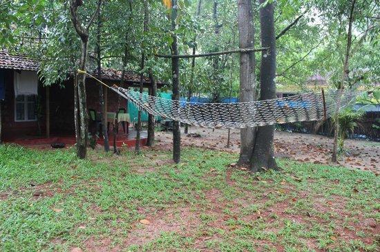 Marari Dreamz: Private outdoor lounging area