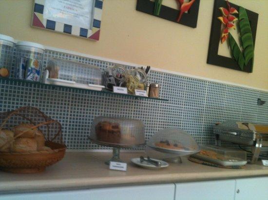 Pousada Portomares: Café da manhã 2