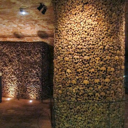 Ossuary at the Church of St James: Brno Ossuary