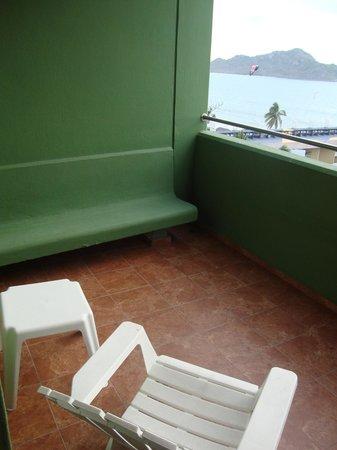 El Cid Castilla Beach Hotel: balcony