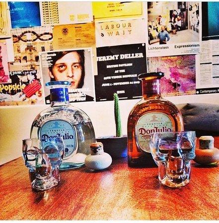 RosaNegra Taqueria : Tequila Don Julio