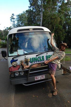 Uncle Brian's Tours: Cousin Brad!