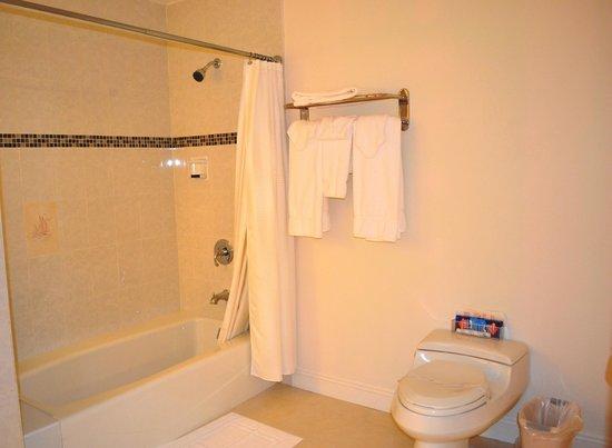 George Hardie's Las Vegas Hotel & Casino: Bathroom