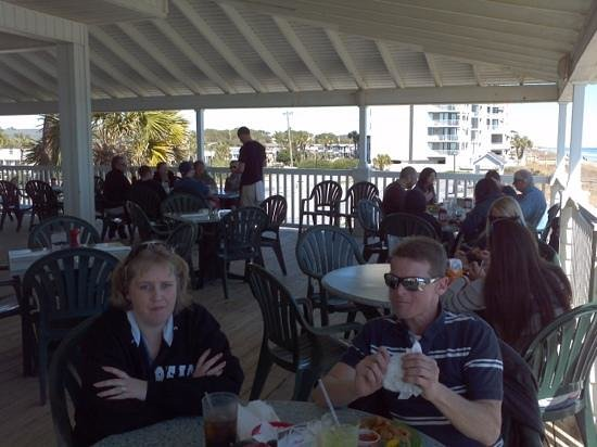 Conch Cafe: lunch on the deck