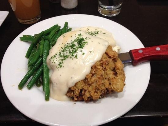 Brooklyn's Contemporary Comfort Food: wonderful chicken fried steak