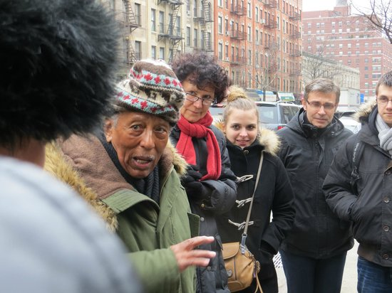 Harlem Heritage Tours: Andy sharing his stories