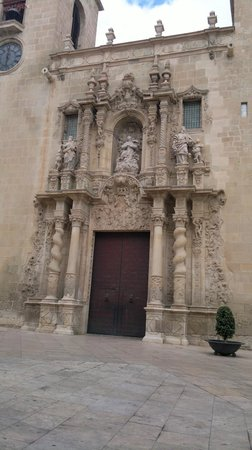 Santa Maria Church : ruhige platz