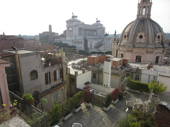 Residenza Torre Colonna: View from the rooftop terrace
