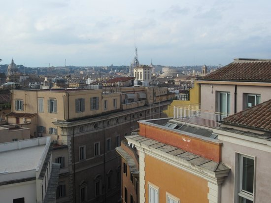 Residenza Torre Colonna : View from the rooftop terrace