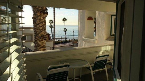 San Clemente Cove Resort Condominiums: VARANDO DO QUARTO