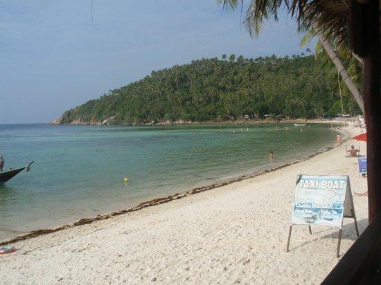 Salad Beach: Beautiful Haad Salaad - looking from South to North
