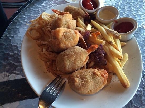 Landry's : Amazing fried stuffed shrimp