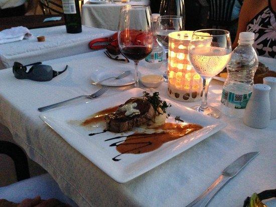 Villa de la Selva : Dinner