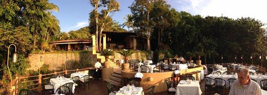 Villa de la Selva: Upper Lounge area