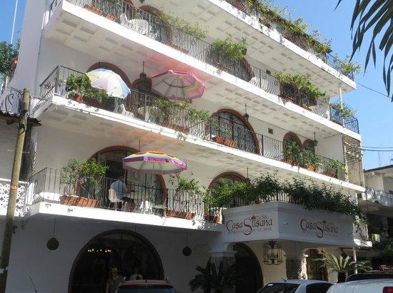 Hotel Casa Dona Susana : Front of Casa Dona Susana