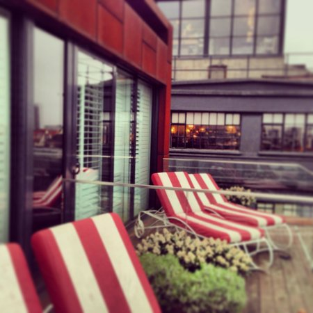 Shoreditch House: Small + balcony