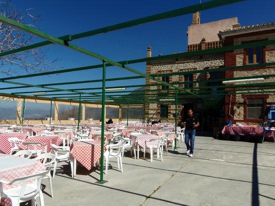 La terraza picture of restaurante el hervidero casa for Casa de granada terraza madrid