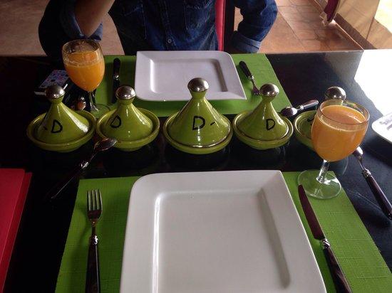Domaine Du Douar : Petit déjeuner