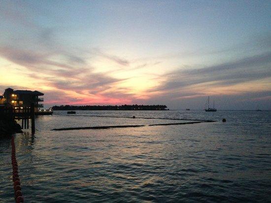 Hyatt Centric Key West Resort and Spa : por do sol do hotel