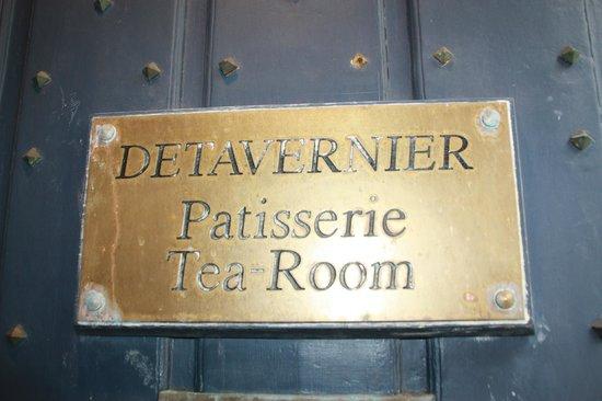 Tearoom Carpe Diem: Entrada