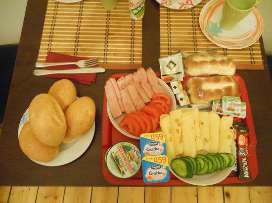 P&J Apartamenty Sw. Krzyza: colazione