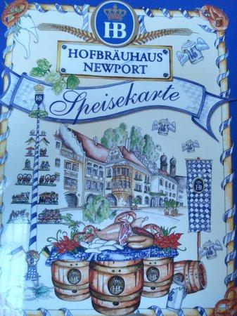 Hofbrauhaus Newport: The Menu