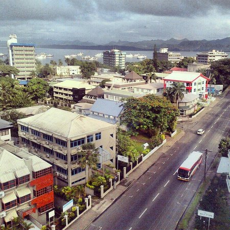 Tanoa Plaza Suva : View from suite
