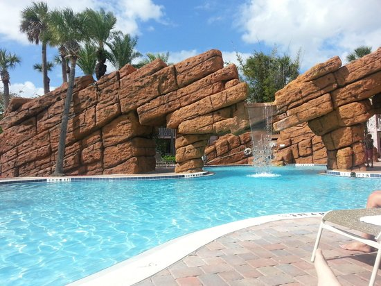 Radisson Resort at the Port: Waterfall Pool
