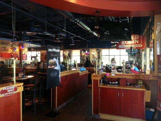 Red Robin Gourmet Burgers Inside