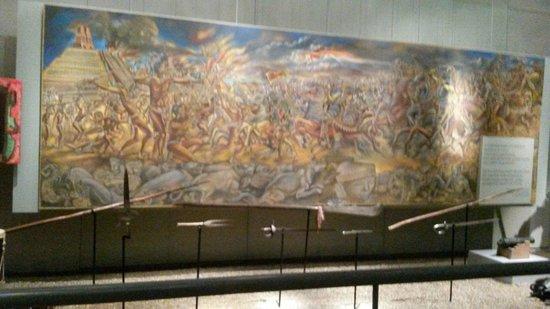 Museo de Historia Mexicana: La conquista